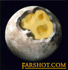 Proof of Cheese on the Moon!