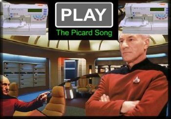 I'm Captain Jean Luc Picard of the Starship Enterprise.