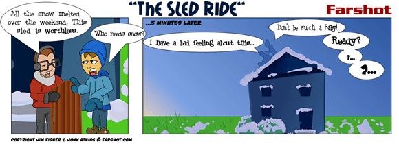 The Sled Ride