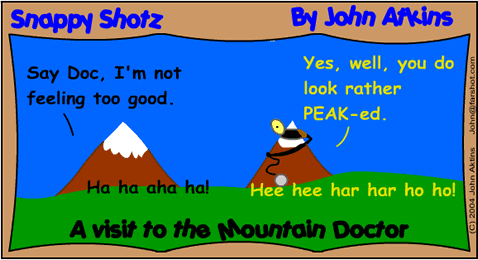 Mountain Doctor.  Talk about country!